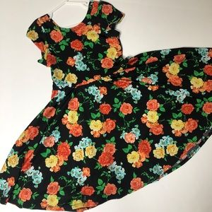 LuLaRoe DotDotSmile Twirl Dress